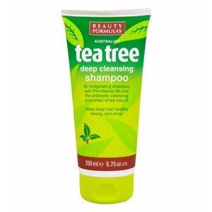 BeautyFormulas  Beauty Formulas Tea tree čistící šampon na vlasy 200ml