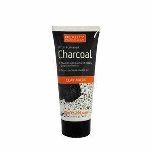 BeautyFormulas  Beauty Formulas Pleťová maska s aktivním uhlím 100ml