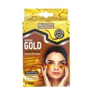 BeautyFormulas  Beauty Formulas Gelové masky pod oči s kolagenem 6 párů