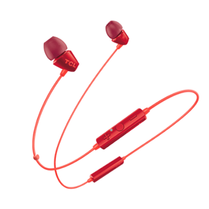 TCL bluetooth sluchátka do uší, oranžová SOCL100BTOR-EU