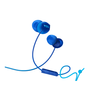 TCL sluchátka do uší, drátová, modrá SOCL300BL-EU
