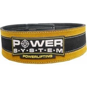 Power System opasek na posilování STRONGLIFT YELLOW vel.L/XL