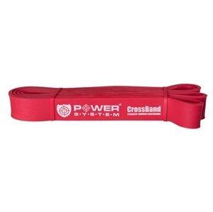 Power System guma na posilování CROSS BAND LEVEL 3 Červená