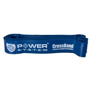 Power System guma na posilování CROSS BAND LEVEL 4 Modrá