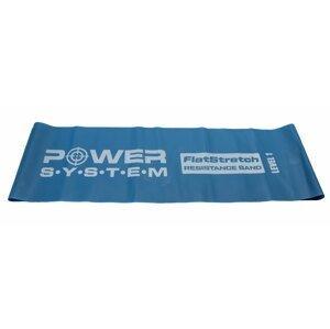 Power System odporová guma FLAT STRETCH BAND LEVEL 1 Modrá
