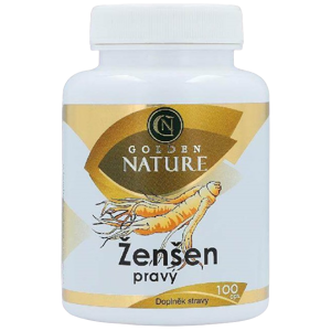 Golden Nature Ženšen pravý 100 tablet