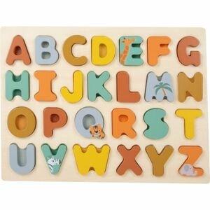 Small foot by Legler  Small Foot Vkládací puzzle Safari abeceda