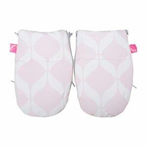 Motherhood Rukavice na kočárek Softshell Classics Pink 1 pár