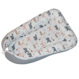 EKO Hnízdo pro miminko bavlněné Roe-Deer 90x60cm