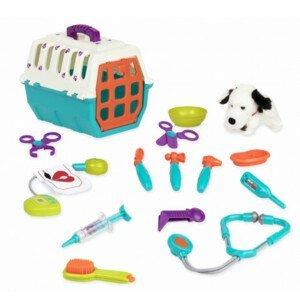 B-Toys, Veterinářská sada s přepravkou Dalmatin