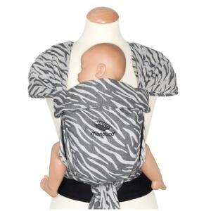 Manduca Twist LimitedEdition Novorozenecké šátkové nosítko Zebra
