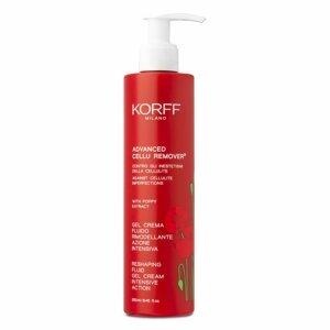 KORFF  Korf Advanced cellu remover Remodelační fluidní krémový gel 250ml