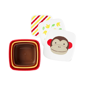 Skip Hop Zoo Misky svačinové opička 12m+ 3ks