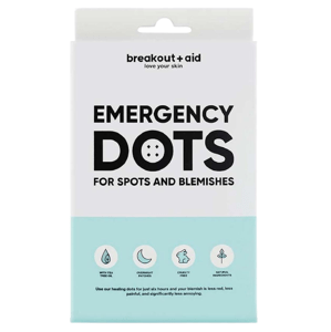 Breakout+aid Náplasti na lokální ošetření akné s Tea Tree 48ks