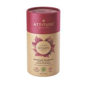 ATTITUDE Přírodní tuhý deodorant Super leaves Listy bílého čaje 85g