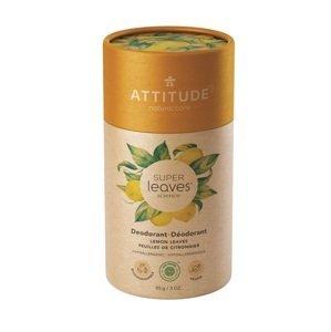 ATTITUDE Přírodní tuhý deodorant Super leaves Citrusové listy 85g