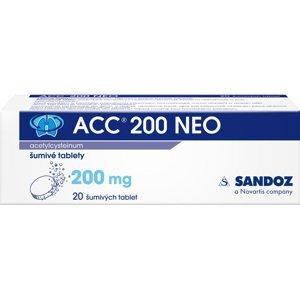 Acc 200 NEO perorální tablety šumivé 20x200mg