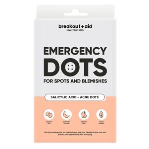 Breakout+aid Náplasti na lokální ošetření akné s Kyselinou salicylovou 48ks