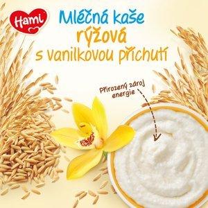 Hami ml.kaše rýžová s vanilkovou příchutí 225g