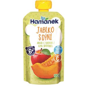 Hamánek Kapsička Jablko s dýní 100g