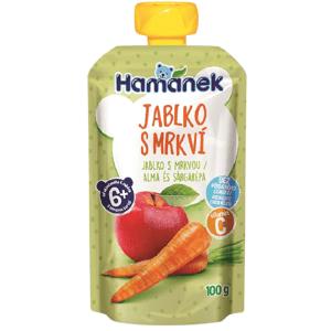 Hamánek Kapsička Jablko s mrkví 100g