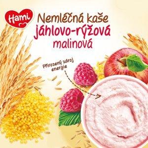 Hami nemléčná kaše jáhlovo-rýžová malinová 170g