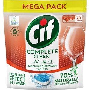 Cif All in 1 Regular Tablety do myčky nádobí 70ks