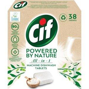 Cif All in 1 Nature Tablety do myčky nádobí 38ks