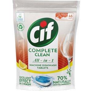 Cif All in 1 Lemon Tablety do myčky nádobí 46ks