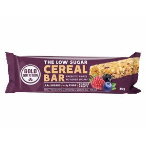 GoldNutrition Low Sugar Cereal Bar lesní plody 30g