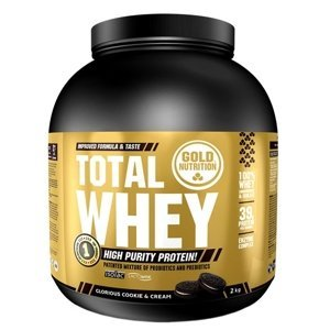 GoldNutrition Total Whey cookies&cream 2000g
