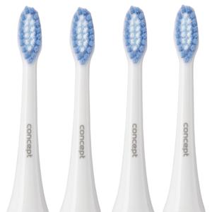 Concept ZK0002 Náhradní hlavice k zubním kartáčkům ZK4000, ZK4010, ZK4030, ZK4040, Soft Clean, 4ks