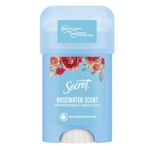 Secret Rosewater krémový antiperspirant 40ml