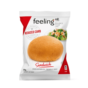 Feeling OK  Profidiet Proteinová houska natur 50g