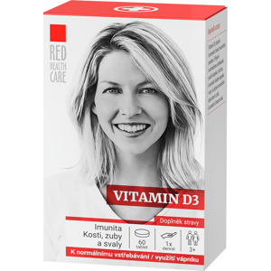 RED HEALTH CARE Vitamin D3 1000 IU 60 tablet