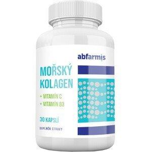 Abfarmis Mořský kolagen + vit.C + vit B3 30 kapslí