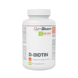 GymBeam D-Biotin 90 kapslí