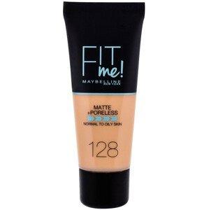 Maybelline Fit Me sjednocující matující make-up pro normální až mastnou pleť 128 Warm Nude 30ml