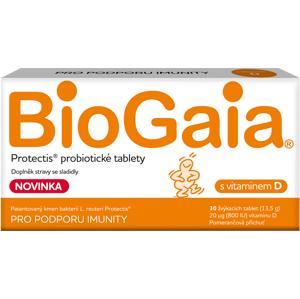 BioGaia Protectis s vitaminem D 30 tablet