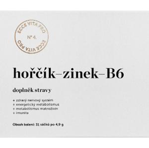 Ecce Vita Hořčík Zinek B6 31ks