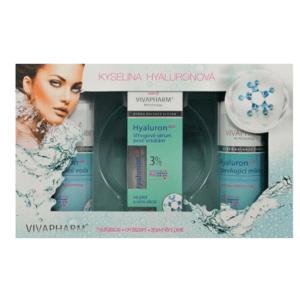 VivaPharm  Vivaco Dárková kazeta kosmetiky s kyselinou hyaluronovou 3ks