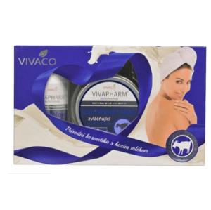 Vivaco Dárková kazeta kosmetiky s kozím mlékem 3ks