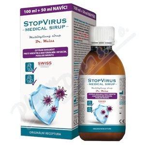 Dr.Weiss  Dr. Weiss STOPVIRUS Medical sirup 100+50ml