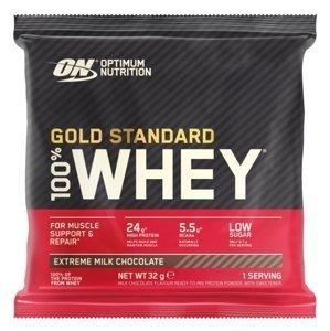 Optimum Nutrition Sample 100% Whey Gold Standard mimořádně mléčná čokoláda 30g