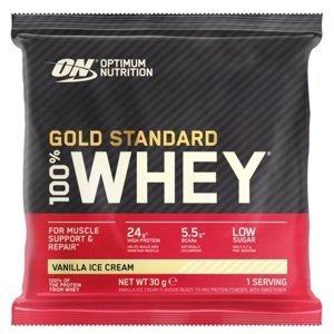 Optimum Nutrition Sample 100% Whey Gold Standard vanilková zmrzlina 30g