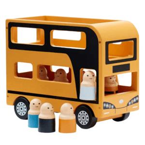Kids Concept,Autobus Doubledecker Aiden dřevěný