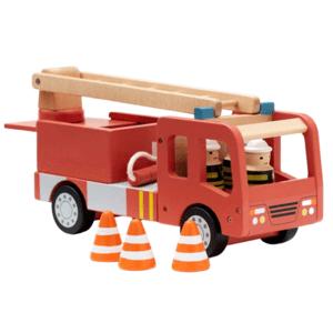 Kids Concept,Hasičský náklaďák Aiden dřevěný