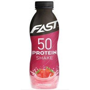 Fast 50 Protein Shake Strawberry 500ml