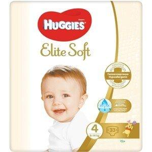 HUGGIES® Elite Soft 4 8-14kg 33ks
