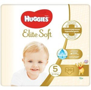 HUGGIES® Elite Soft 5 12-22kg 28ks